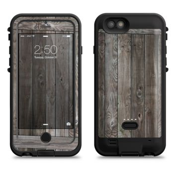 The Wooden Wall-Panel  iPhone 6/6s Plus LifeProof Fre POWER Case Skin Kit