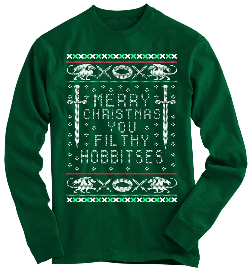 Lord Of The Rings Ugly Christmas Sweater from Gnarly Tees