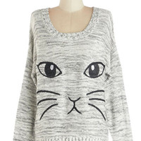 All Eyes on Mew Sweater