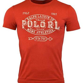 Polo Ralph Lauren Mens Classic Fit Graphic Logo T-Shirt