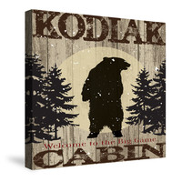 Cabin Camp Lodge Inn I Canvas Wall Art