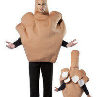 Middle Finger Costume - Offensive Halloween Costume Ideas
