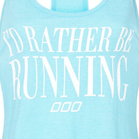 Rather Be Running Tank