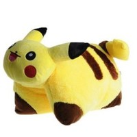 "Pillow (Cushion) Pokemon 17"" Pikachu Plush Doll Pet"
