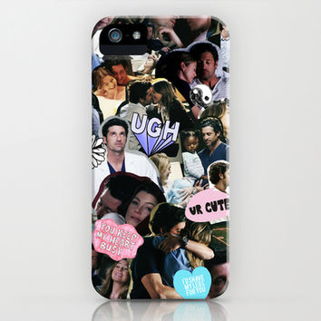 Greys Anatomy: Merder iPhone & iPod Case by drmedusagrey