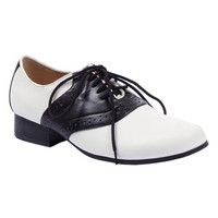 Black & White Classic Two Tone Saddle Shoes