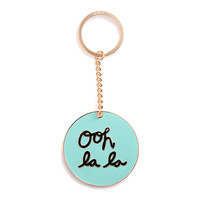 get around keychain - ooh la la