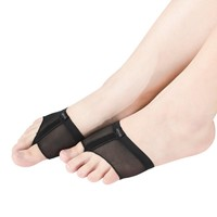 MiDee Toes Thong Half Sole Dance Shoes Lyrical Dancing Feet Pad