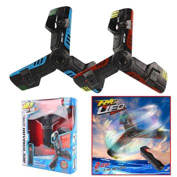 UFO Boomerang Aircraft Creative Mini Drone RC Quadcopter Remote Control Toy Rechargeable Flying Saucer With Flash Light 2.4G