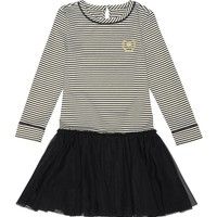 Sparkle Stripe/Tulle Dress by Juicy Couture