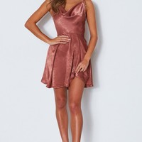 Miss Right Mini Dress Copper