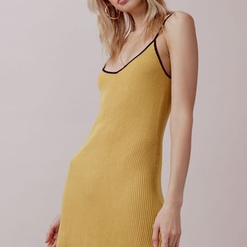 Ruffle Edge Tank Dress – For Love & Lemons