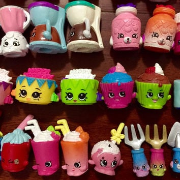 Real Moose Shopkins season 1 2 3 4 5 6 7 toys 30PCS Best Birthday Gifts Christmas Gifts