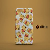 SLEEPY POOH Design Custom Case by ditto! for iPhone 6 6 Plus iPhone 5 5s 5c iPhone 4 4s Samsung Galaxy s3 s4 & s5 and Note 2 3 4