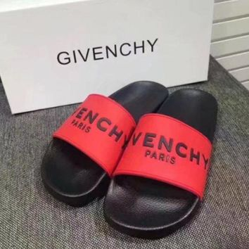 One-nice™ Givenchy Casual Fashion Women Sandal Slipper Shoes H-ALS-XZ