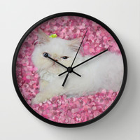 Lord Aries Cat Wall Clock by AFrancisconi