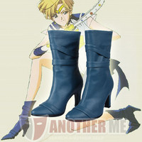 Another Me™ Sailor Moon Sailor Uranus Cosplay Shoes Boots Custom Made Fashion