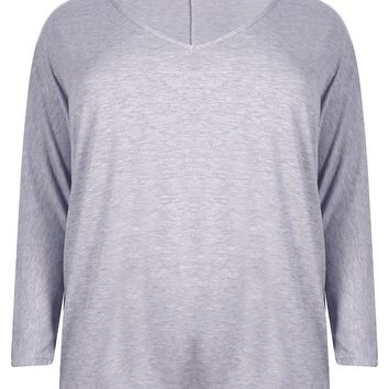 Plus Long Sleeve Basic Tee | Boohoo