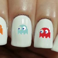 pixel nail decal from Boiicosmetics