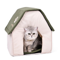 Foldable Cushion Cat House