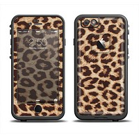 The Simple Vector Cheetah Print Apple iPhone 6 LifeProof Fre Case Skin Set