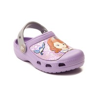 Toddler/Youth Crocs™ Sofia The First Clog Sandal