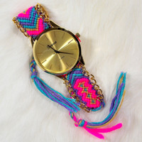Pink & Gold Besties Watch