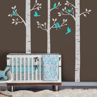 Large Forest Tree Wall Decal by Baby in Motion