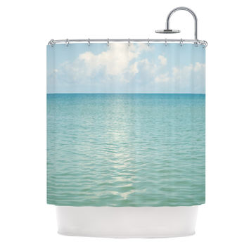 "Catherine McDonald ""Cloud Reflection"" Shower Curtain"