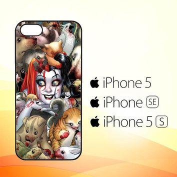 Harley Quinn Textless Z0242  iPhone 5|5S|SE Case