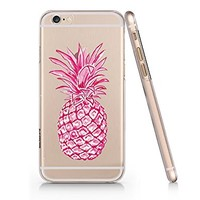 Summer Pineapple Slim Iphone 6 6s Case, Clear Iphone Hard Cover Case For Apple Iphone 6 6s Emerishop (iphone 6)