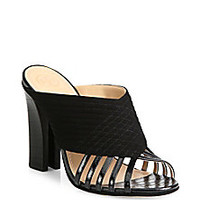Tory Burch - Brida Leather Mule Sandals - Saks Fifth Avenue Mobile