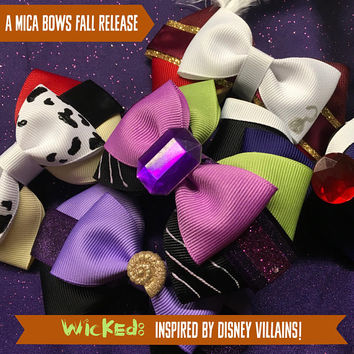 WICKED: a Disney Villain inspired collection