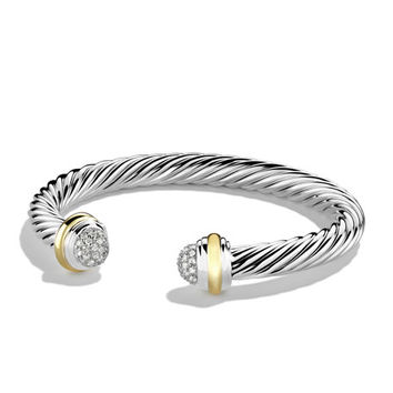 David Yurman 7mm Silver Ice Bracelet
