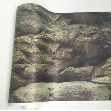 "27""/69 cm Tall Aquarium Background 1 Sided Poster Picture Wall Decoration 1m-5cm Long"