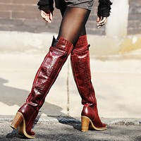 Womens Novak Over the Knee Boot
