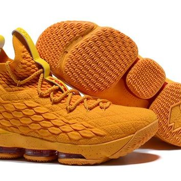 2017 Nike Lebron 15 All Yellow - Beauty Ticks