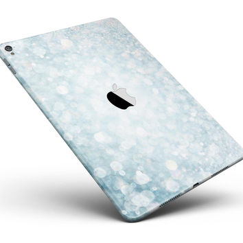 """Unfocused Blue Orb Lights  Full Body Skin for the iPad Pro (12.9"""" or 9.7"""" available)"""