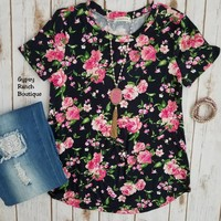 All In Good Fun Floral Top