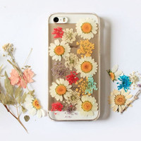 Pressed Real Flower Phone Cases