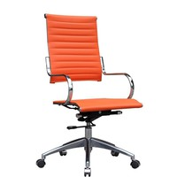 Flees Office Chair High Back, Orange