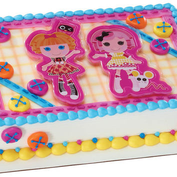 Lalaloopsy Let's Bake Cake Topper and Cookie Cutters