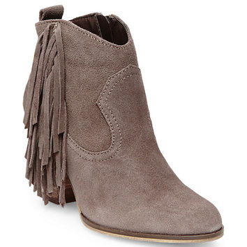 Steve Madden Ohio Fringe Booties | Dillards