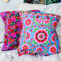 Flower Child Pillow Covers