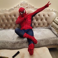 2017 New Ultimate Spiderman costume The best Spider-Man costume Amazing Spiderman clothing Halloween costumes cosplay spider man