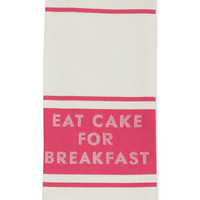 kate spade new york all in good taste Eat Cake for Breakfast Diner Stripe Kitchen Towel - Black Friday Doorbusters - For The Home - Macy's