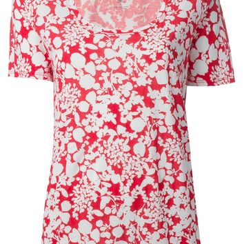 Tory Burch 'Esther' floral print t-shirt