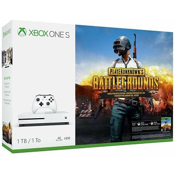 Xbox One S 1TB Player Unknown's Battlegrounds Bundle