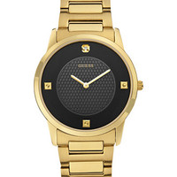 GUESS Men's Diamond Accent Gold-Tone Steel Bracelet Watch 40mm U0428G1