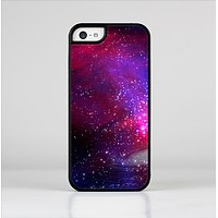 The Vivid Pink Galaxy Lights Skin-Sert Case for the Apple iPhone 5c